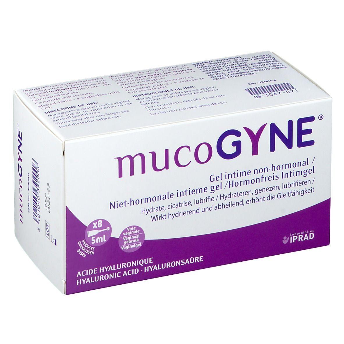 MucoGYNE® Gel intime non hormonal ml gel(s)