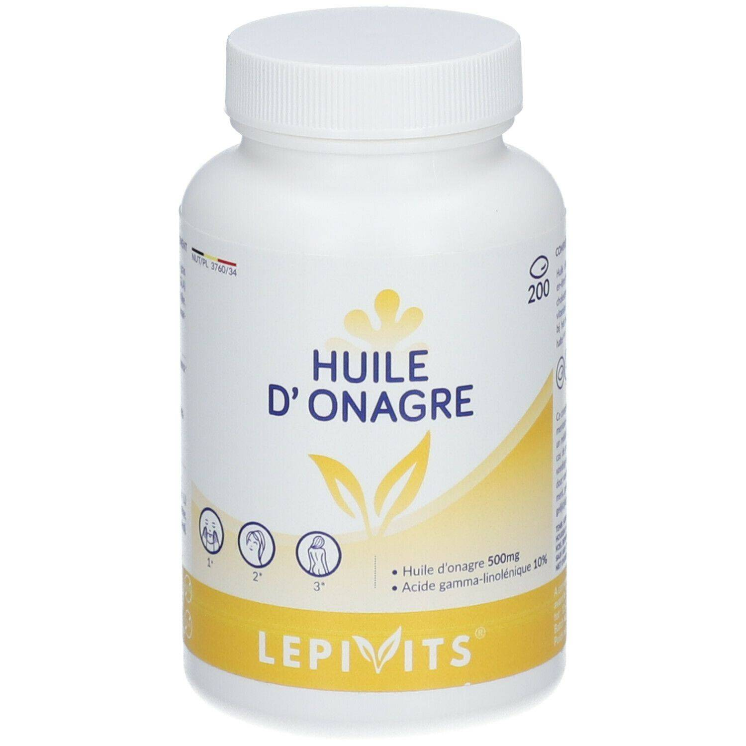Leppin LEPIVITS® Huile d'Onagre Leppin pc(s) capsule(s)