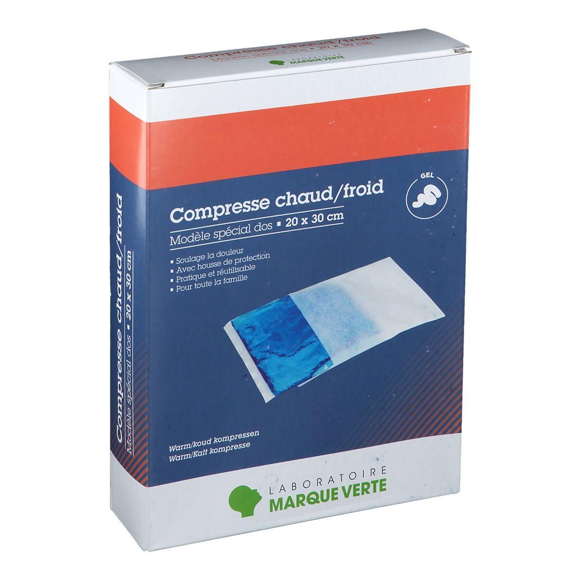Marque Verte Compresse chaud / froid Dos 20 x 30 cm pc(s) compresse(s)