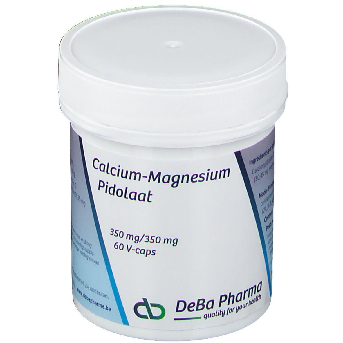 Deba Pharma Deba Pilodate de calcium magnésium 350/350 mg pc(s) capsule(s)