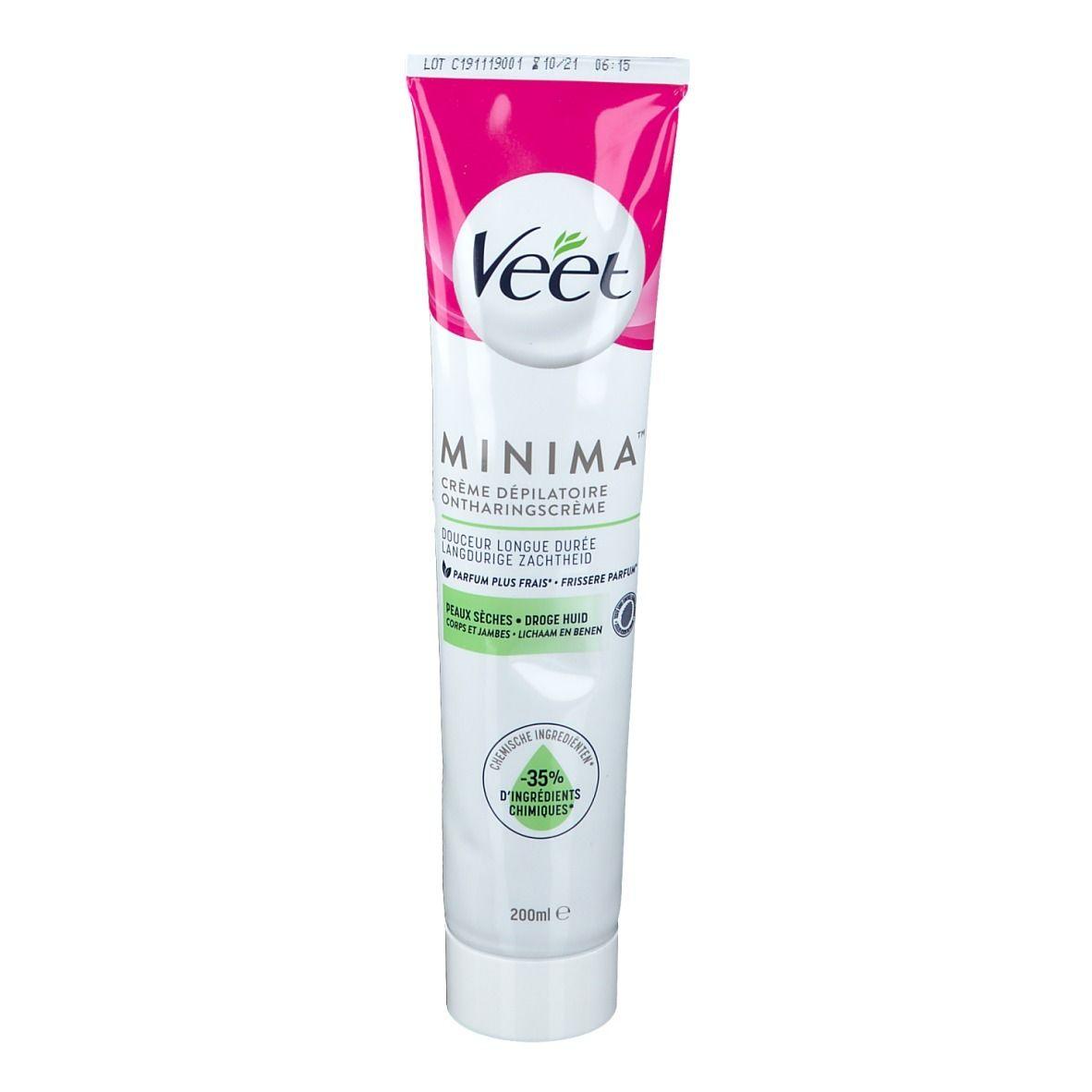 Veet Minima™ Crème dépilatoire Peau sèche ml crème