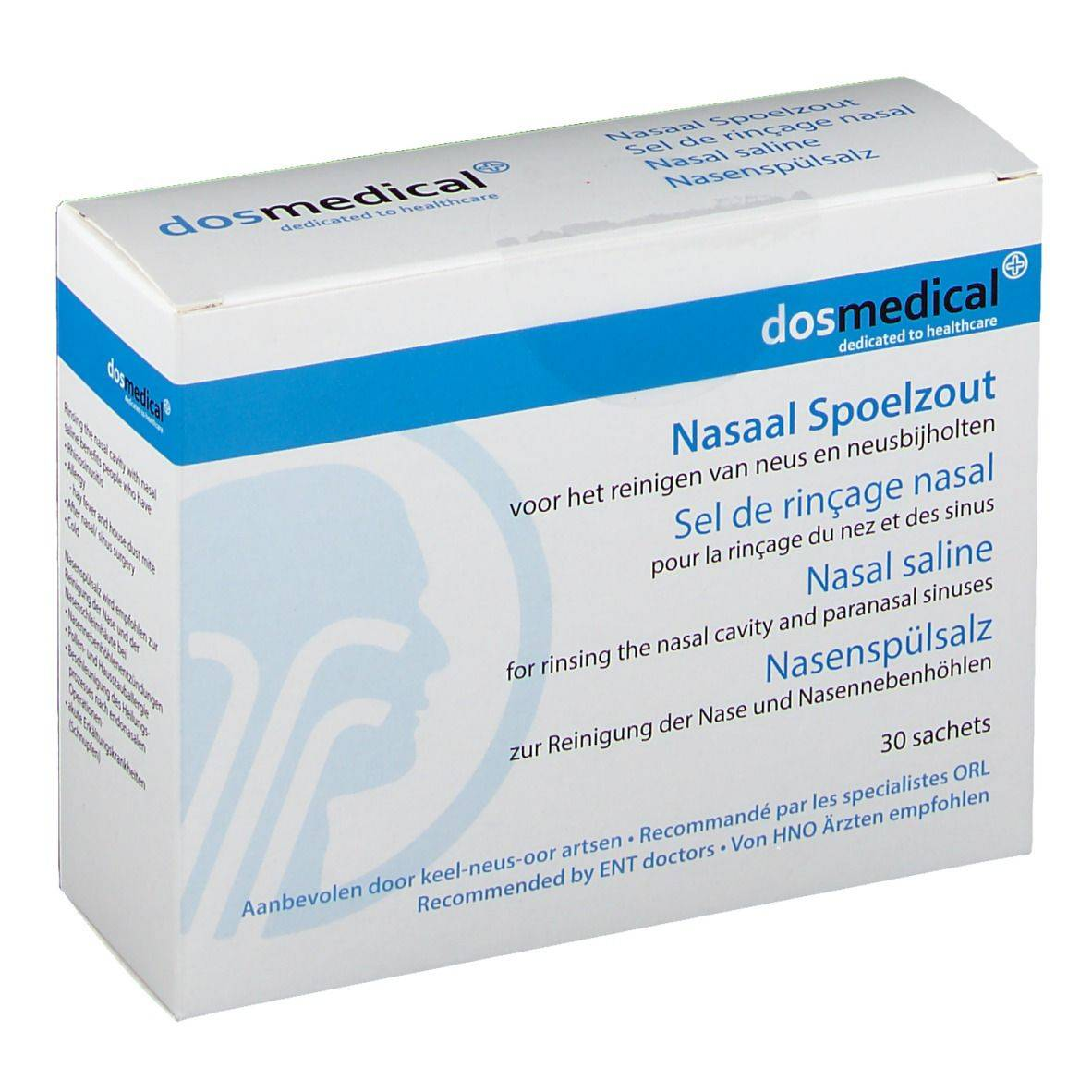dosmedical Dos Medical Sel de rinçage nasal pc(s) sachet(s)