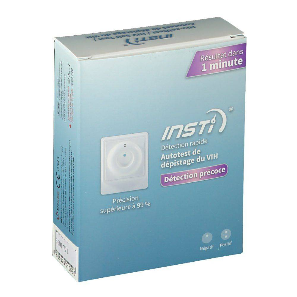 INSTI® VIH Test pc(s) test(s)