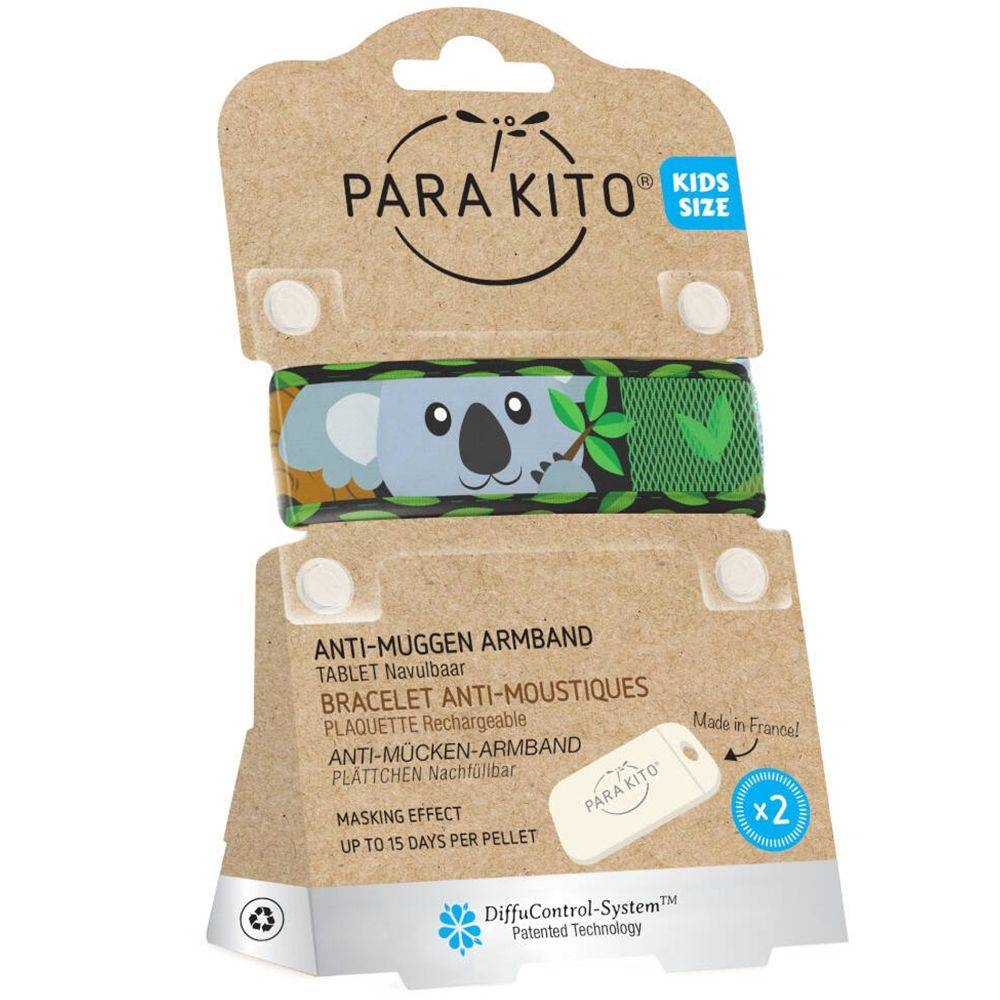 PARA KITO™ Kids Bracelet anti-moustiques Waterproof Koala pc(s)