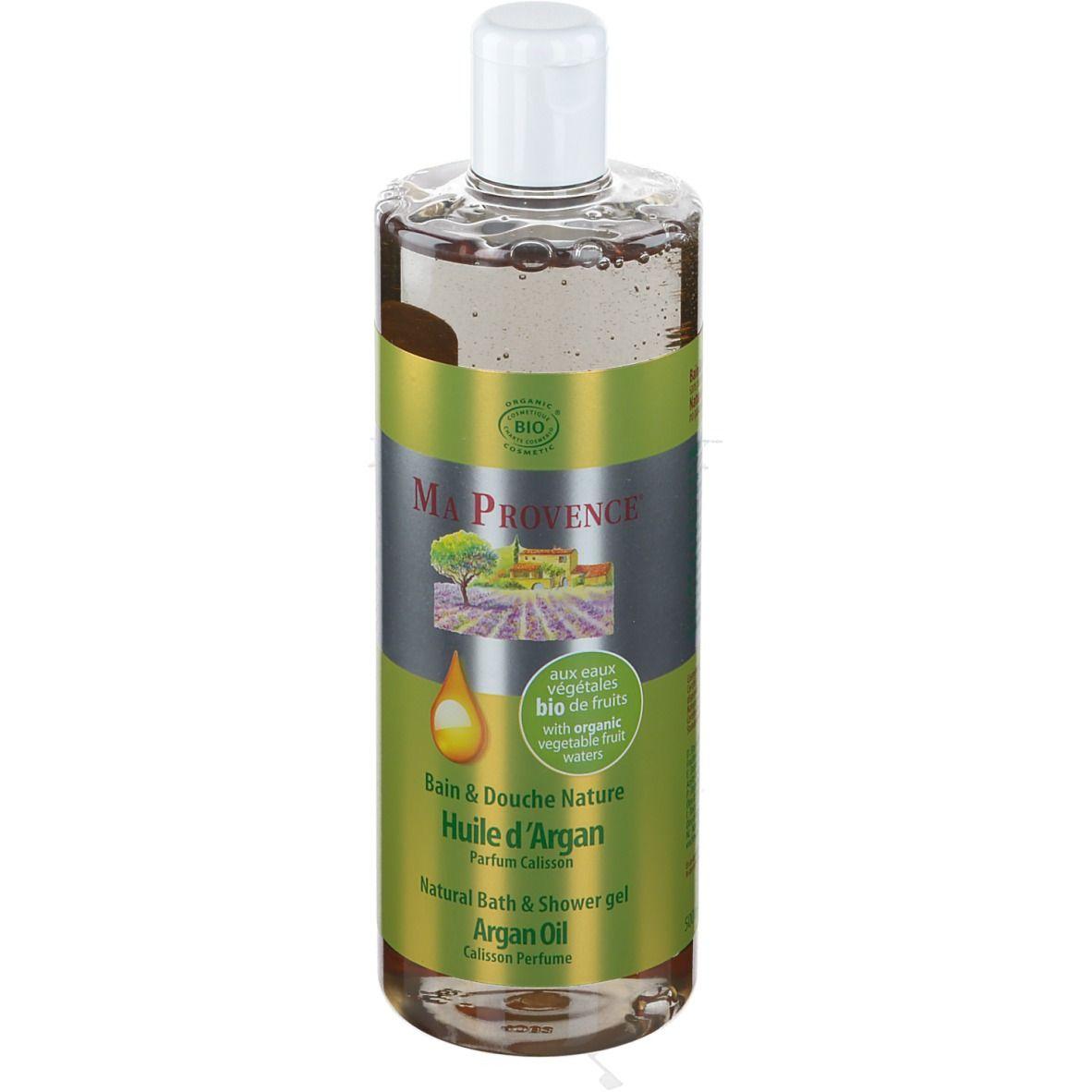 Ma Provence® Bain & Douche Nature Huile d'Argan Bio ml gel nettoyant