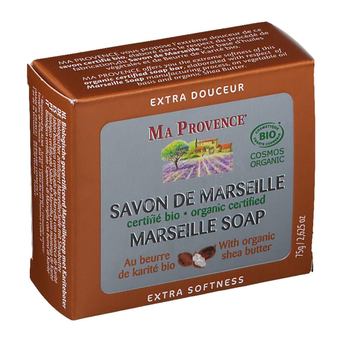 MA Provence® Ma Provence Savon de Marseille au Beurre de karité Bio g savon