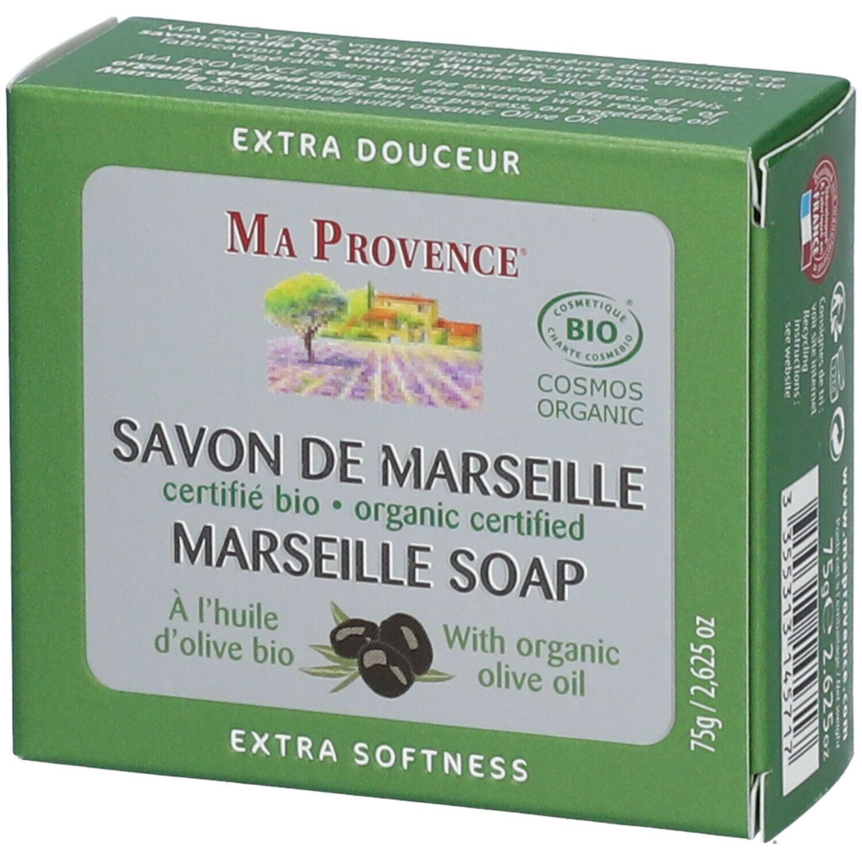 MA PROVENCE® SAVON DE MARSEILLE À l'huile d'olive bio g savon