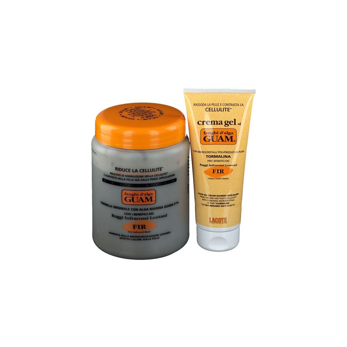 Guam® Boue d'algues GUAM® FIR + Crème gel raffermissante FIR GUAM® Anti-cellulite pc(s) set(s)