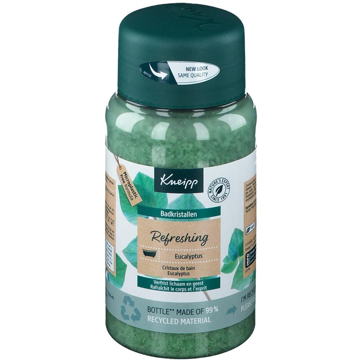 Kneipp Cristaux pour le bain Refreshing Eucalyptus g sel de bain