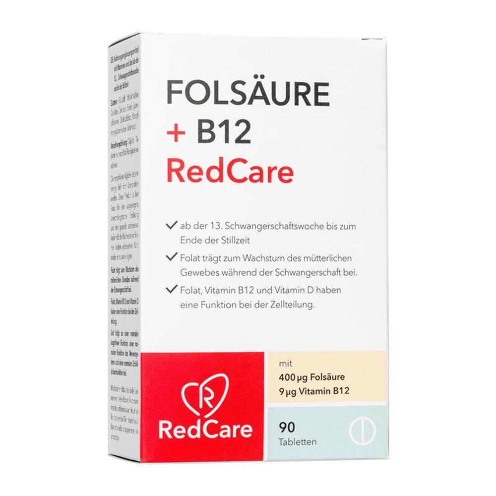 Redcare ACIDE FOLIQUE + B12 RedCare pc(s) comprimé(s)