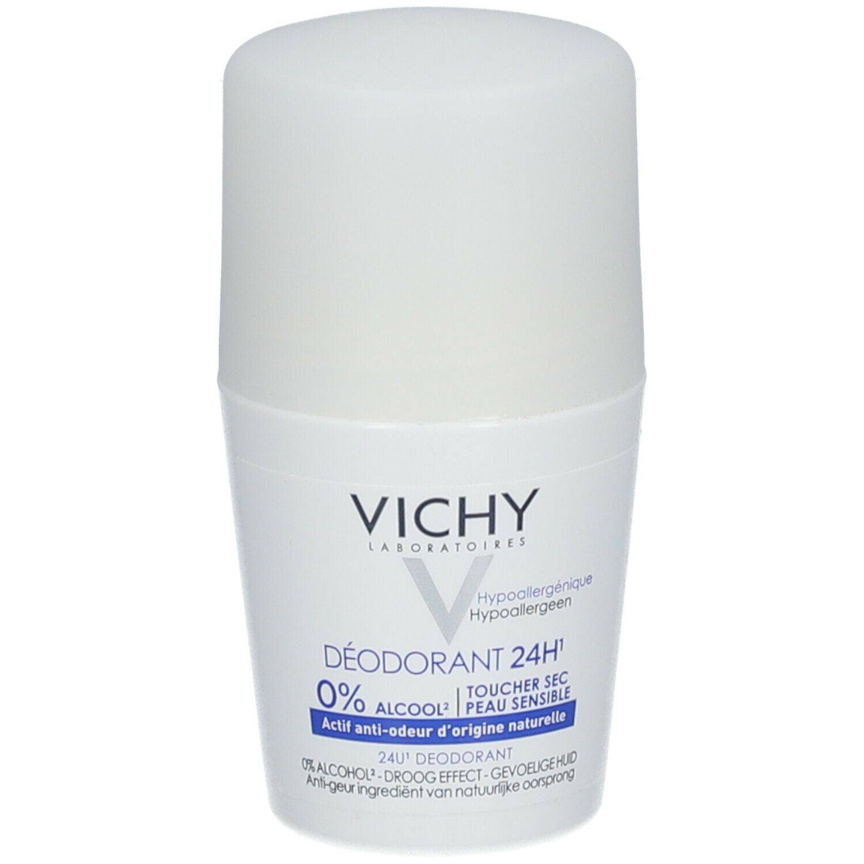 VICHY Déodorant sans sels d'aluminium toucher sec ml Roller