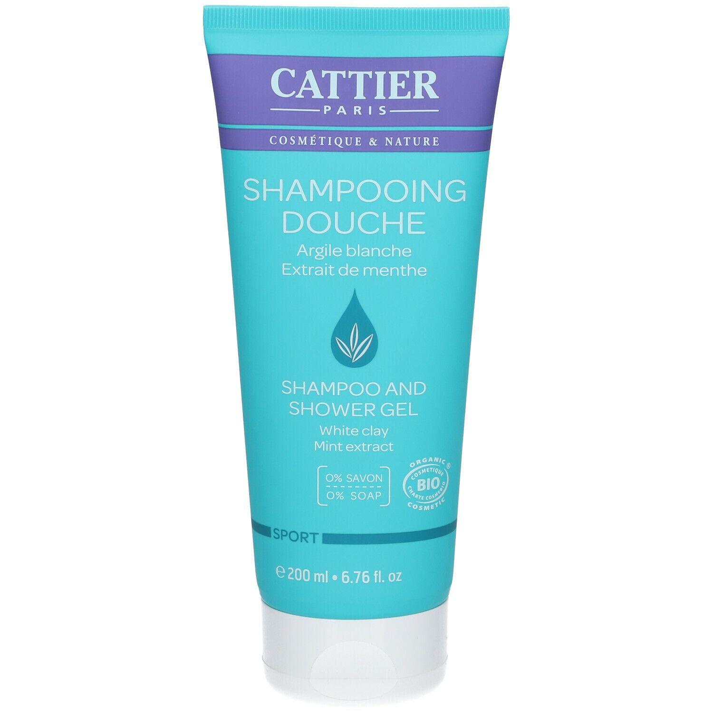 Cattier shampoing douche sport bio ml shampooing