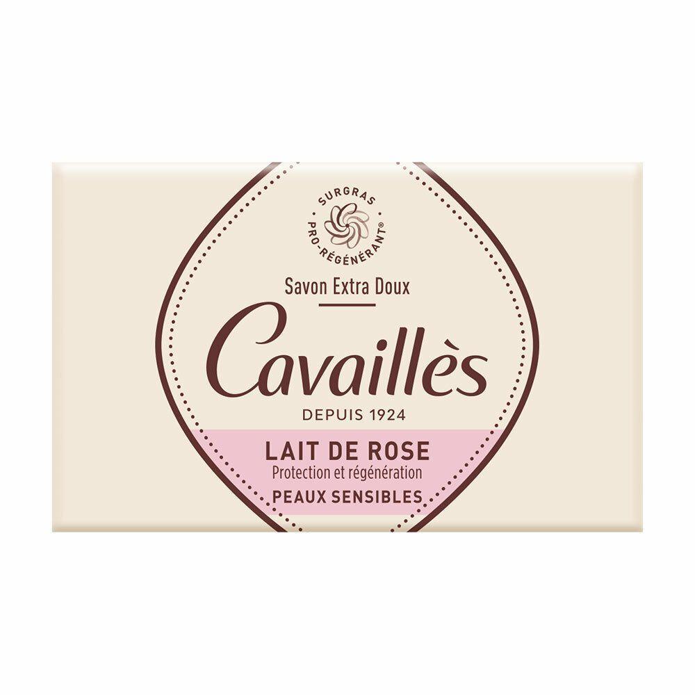 Rogé Cavaillès savon surgras parfumé lait de rose g savon
