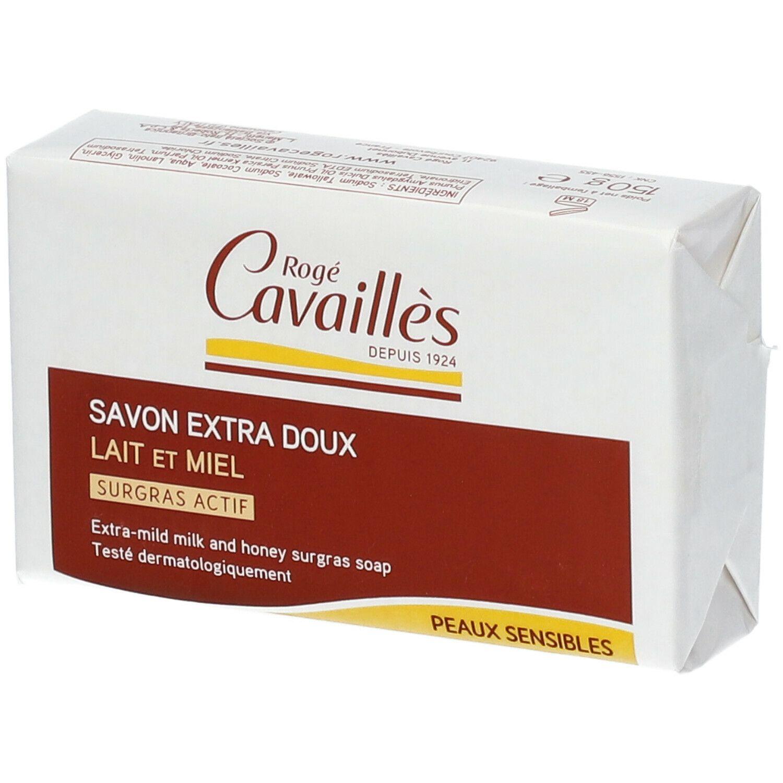Rogé Cavaillès savon surgras lait miel g savon