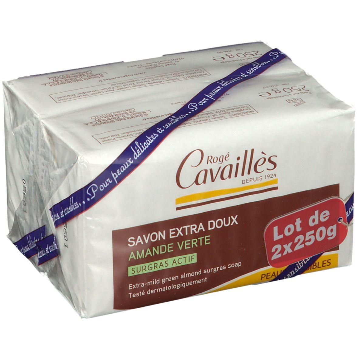 Rogé Cavaillès savon surgras amande verte g savon