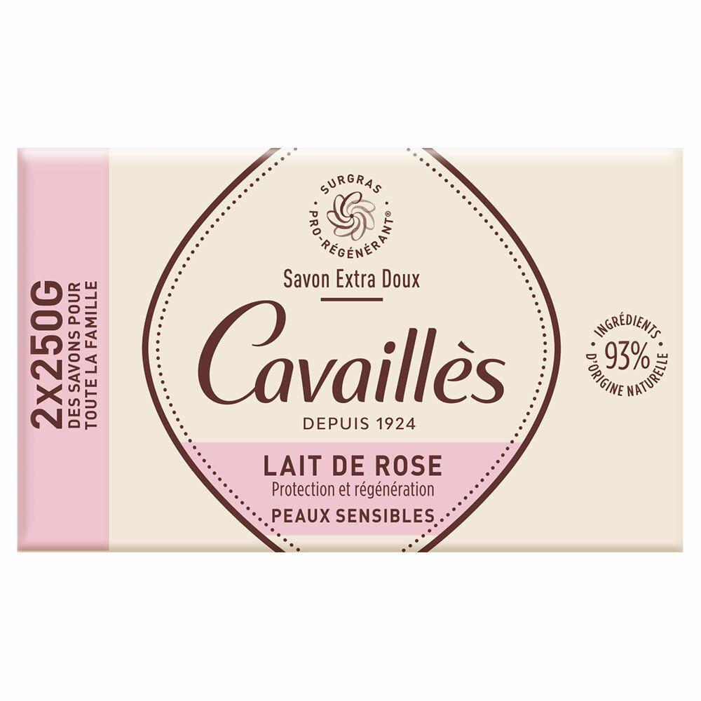 Rogé Cavaillès Savon surgras extra-doux Lait de rose g savon