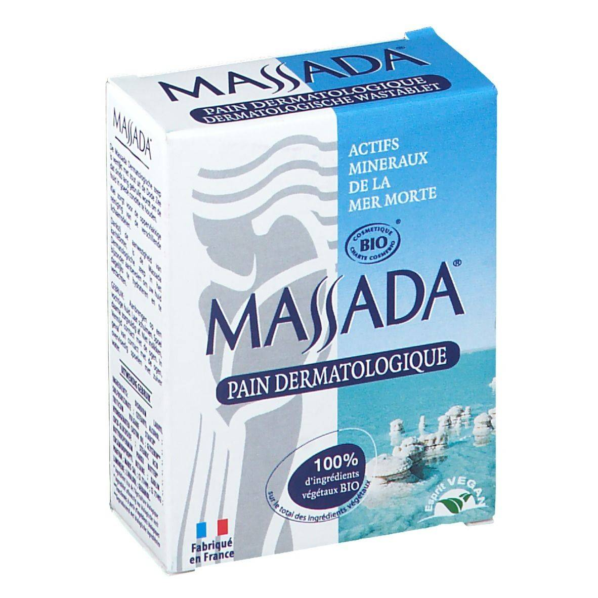 Massada® Pain dermatologique g savon
