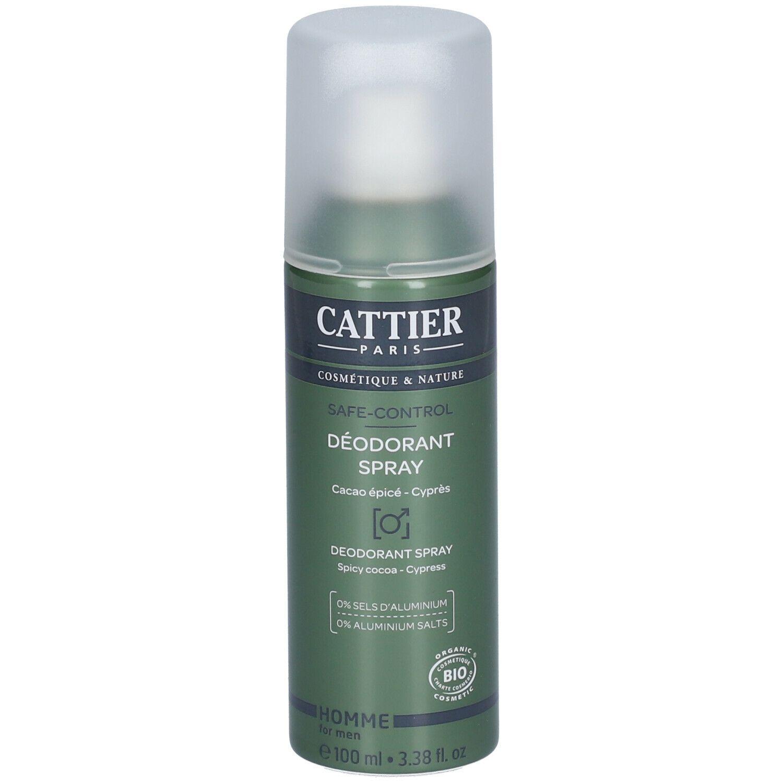 Cattier Homme Déodorant spray safe-control ml déodorant