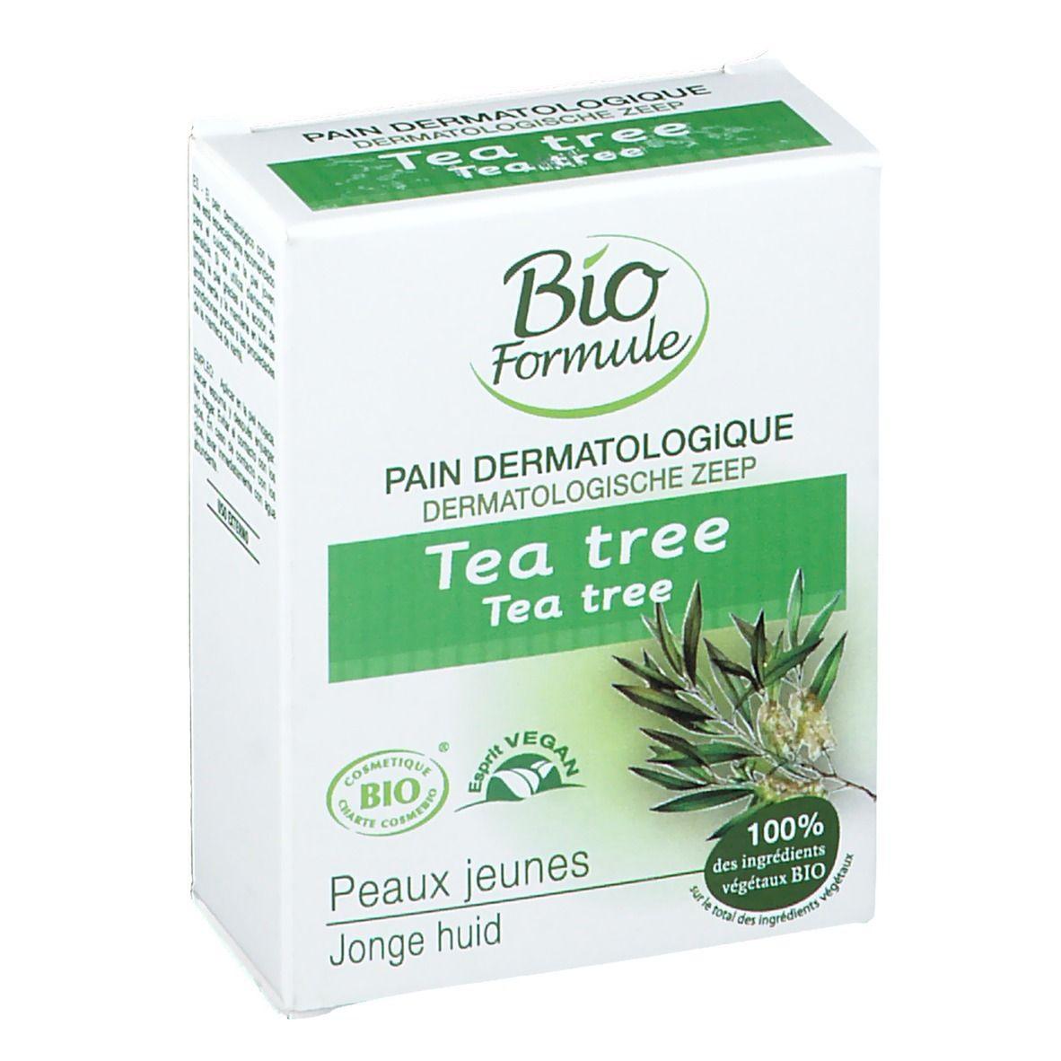 BioFormule Bio Formule Pain dermatologique Tea tree g savon