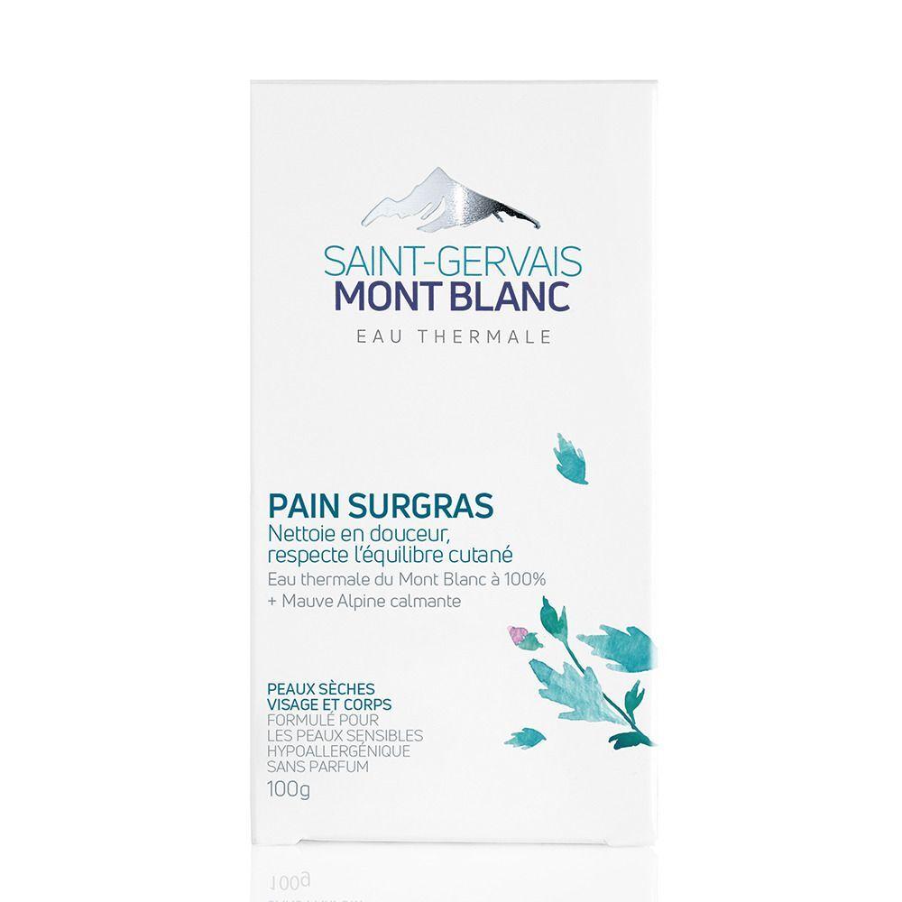Saint-Gervais MONT BLANC Pain surgras dermatologique 100 g g savon