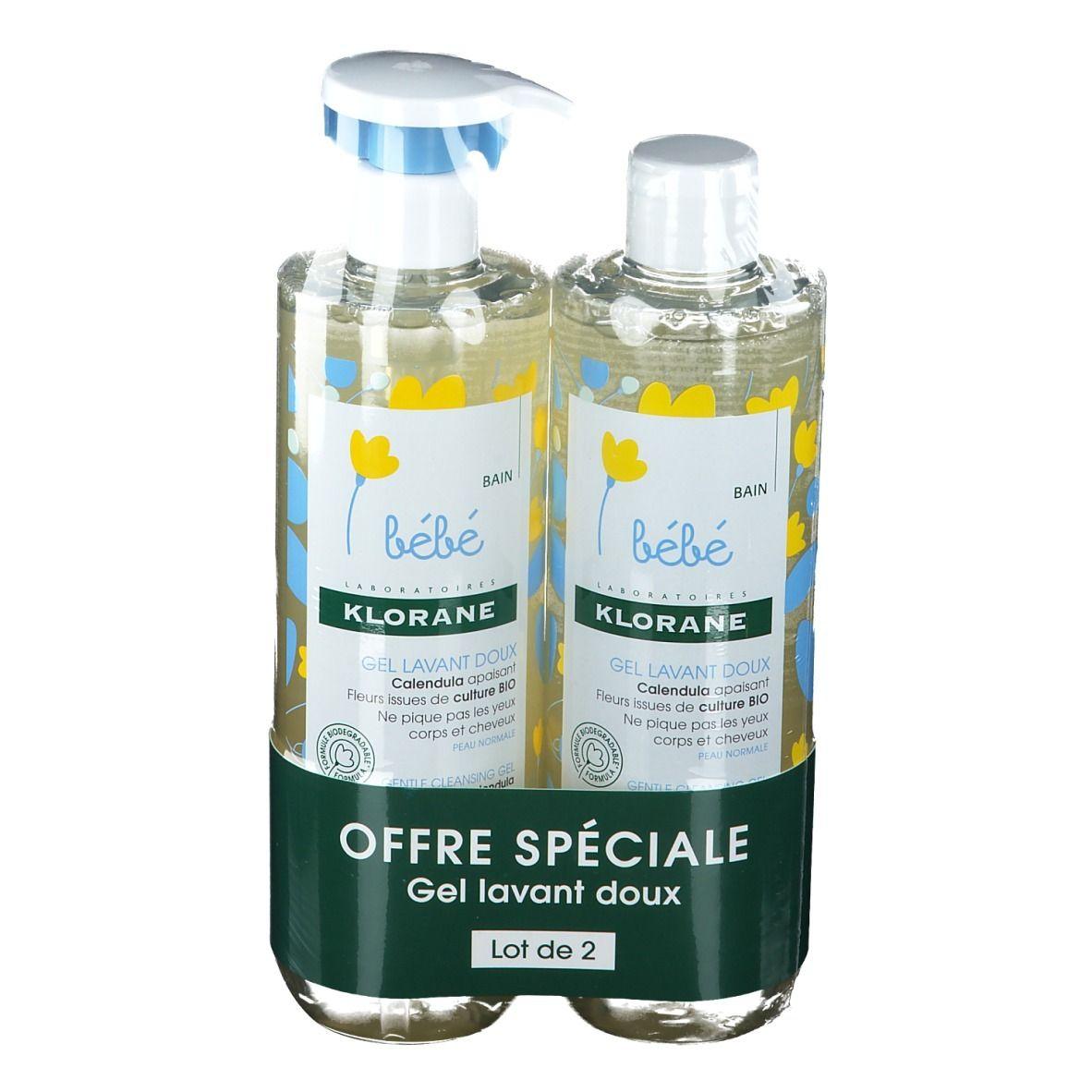KLORANE Bébé Gel Lavant Doux au Calendula Bio ml gel(s)
