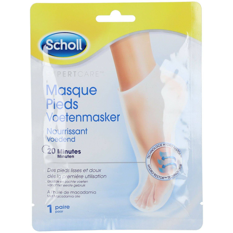 Scholl Masque Pieds Nourrissant Huile de Macadamia pc(s) crème de pieds