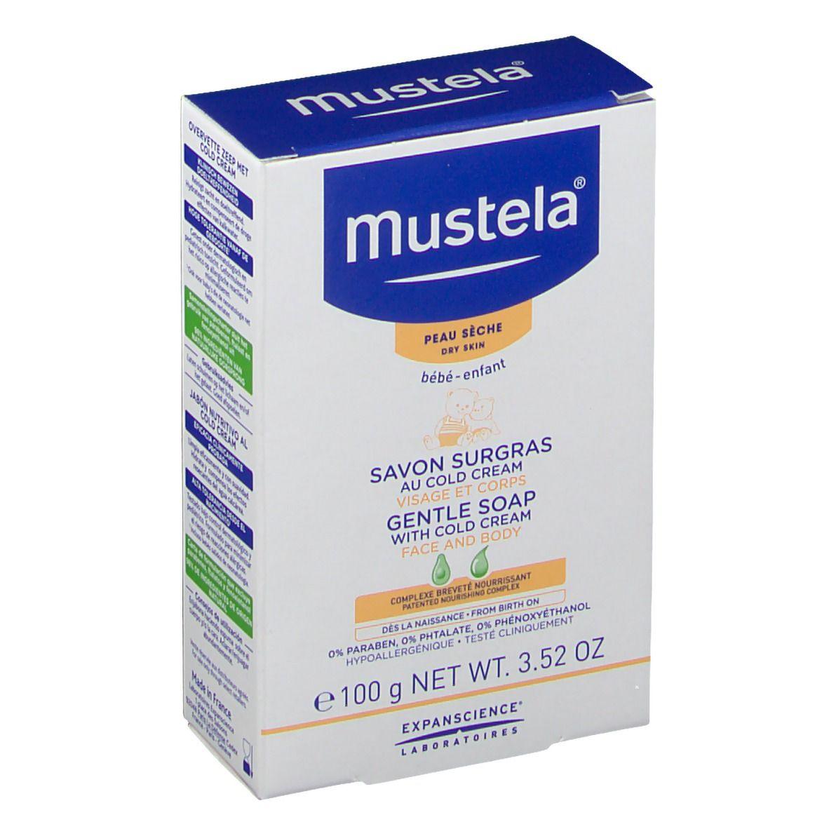 mustela® Savon Surgras au Cold cream g savon