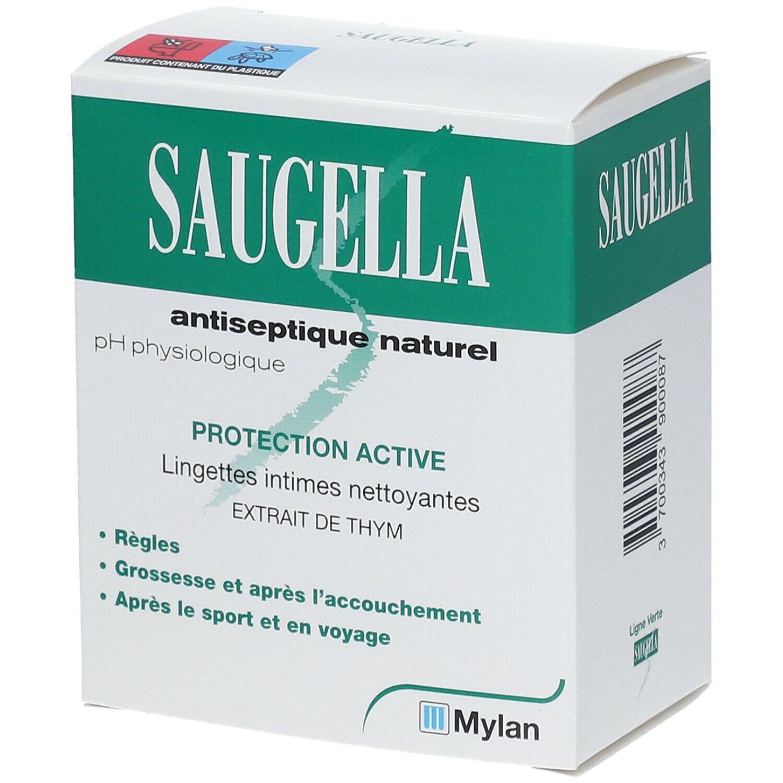 SAUGELLA Antiseptique Naturel Ligne Verte Lingette pc(s) lingette(s)
