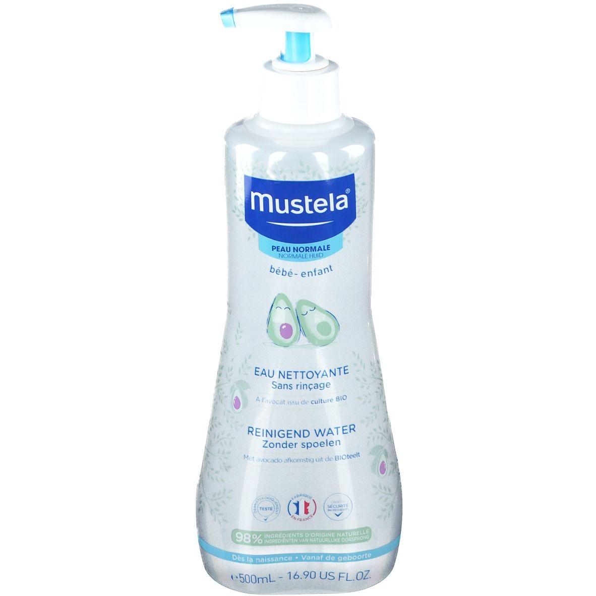 mustela® Bébé Enfant Eau Nettoyante Sans Rinçage Peau Normale ml produit(s) démaquillant(s)