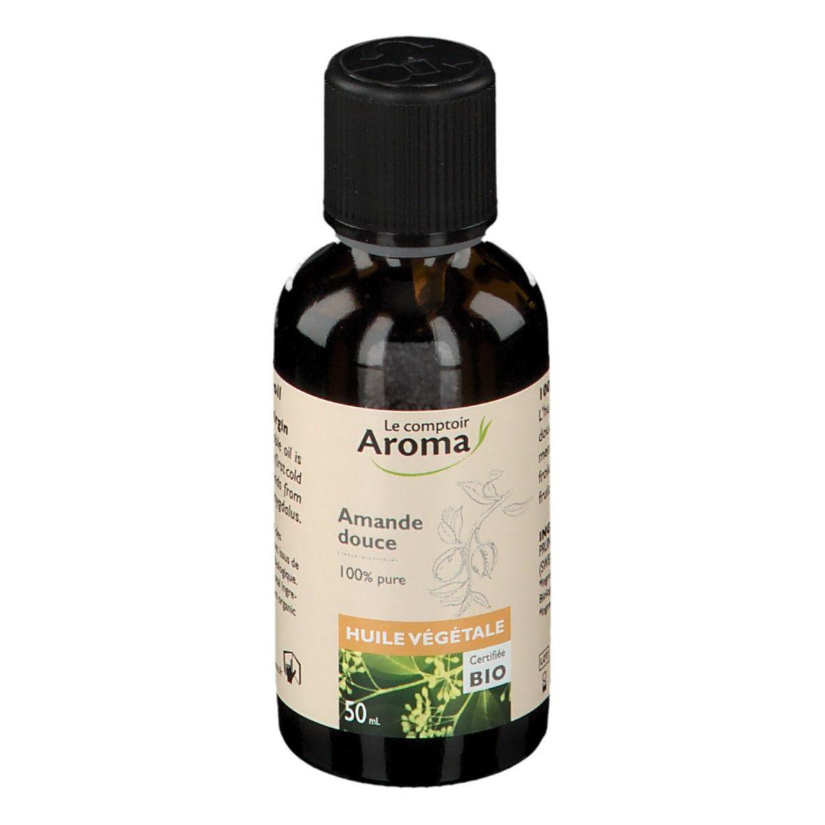 Le Comptoir Aroma Huile Végétale Bio d'Amande douce ml huile