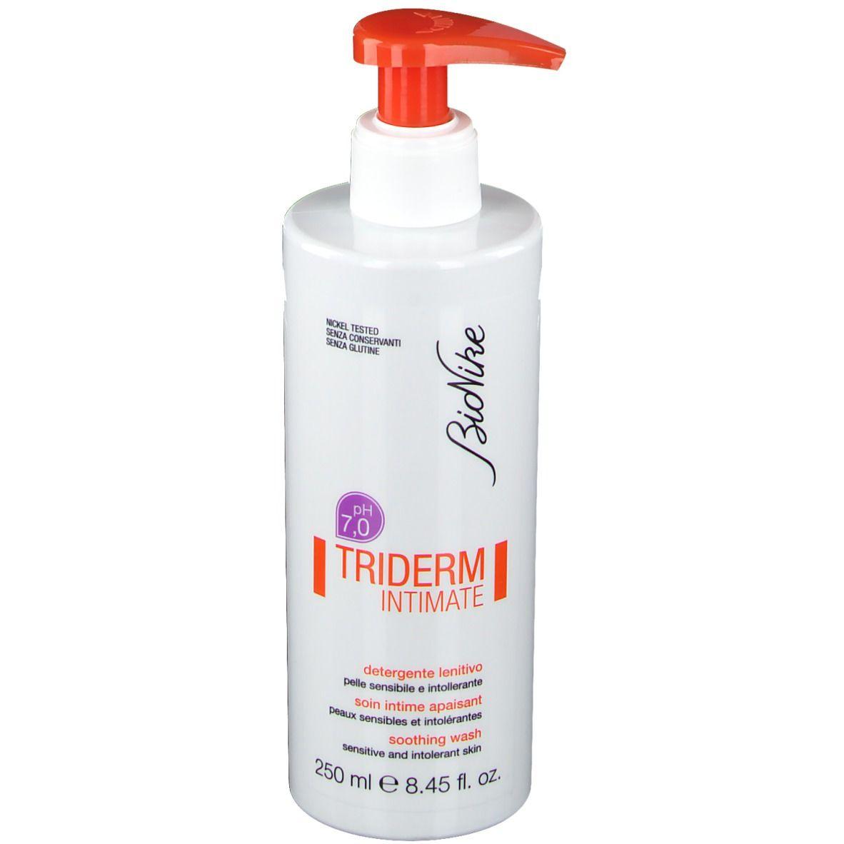 BioNike TRIDERM INTIMATE Soin intime apaisant pH 7.0 ml gel nettoyant
