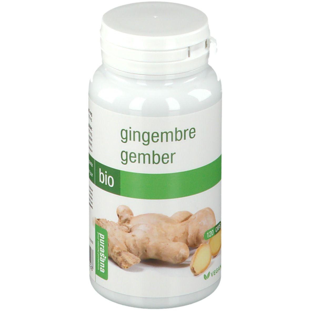 Purasana® Purasana Gingembre Bio pc(s) capsule(s)
