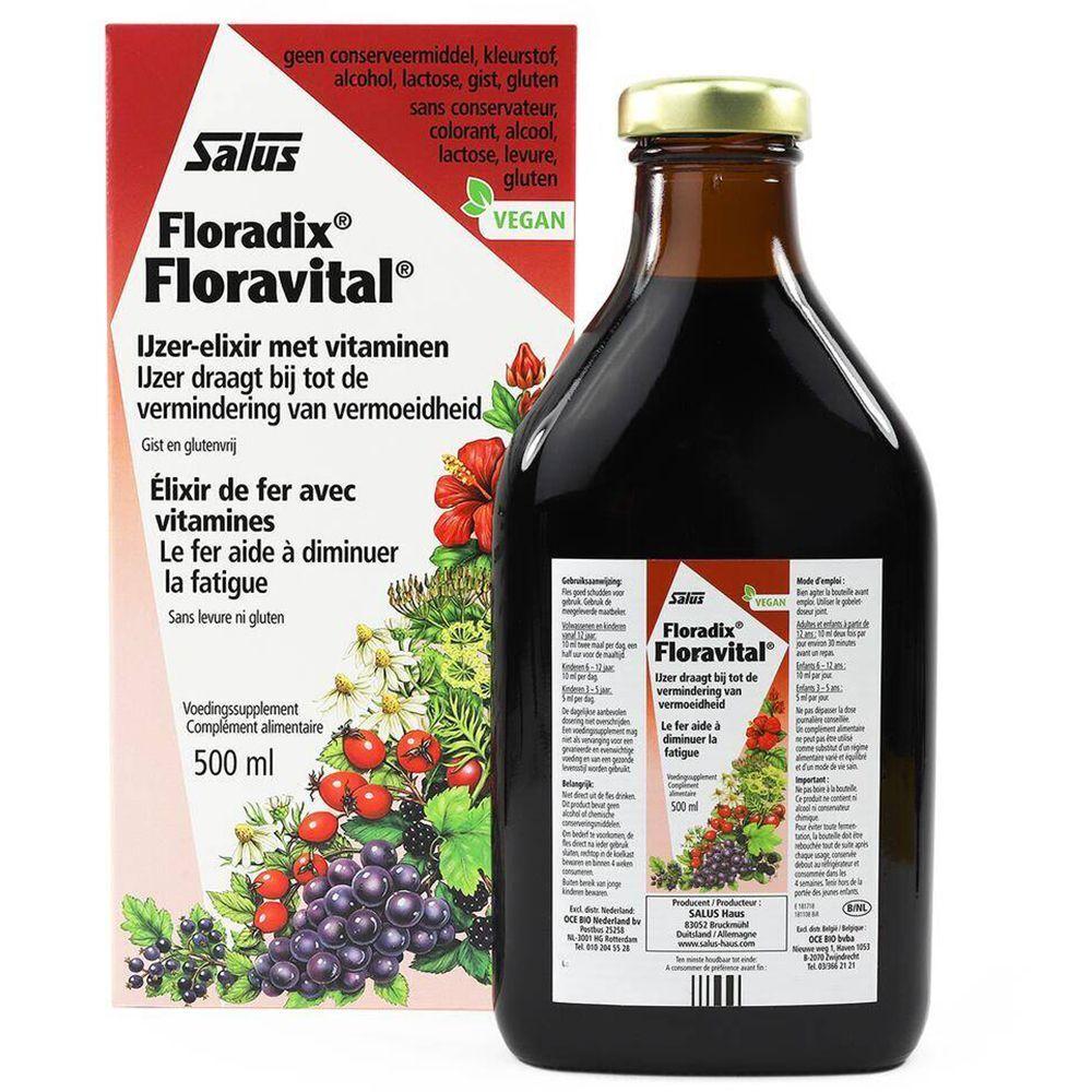 Floradix Salus Floravital® Fer + plantes ml solution(s)