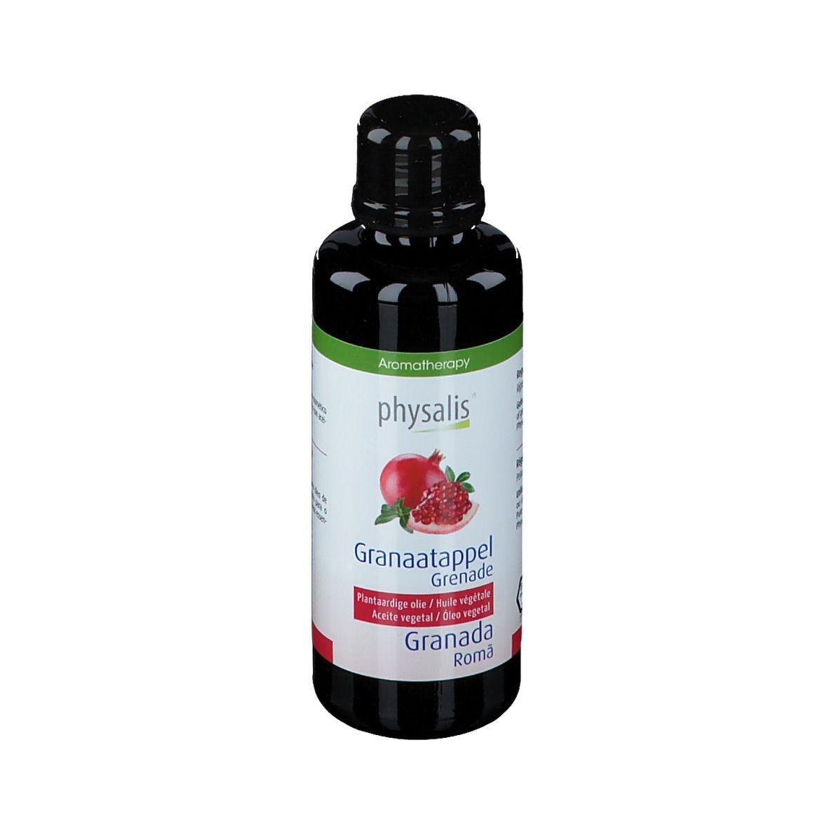 physalis® Huile végétale Bio Grenade ml huile