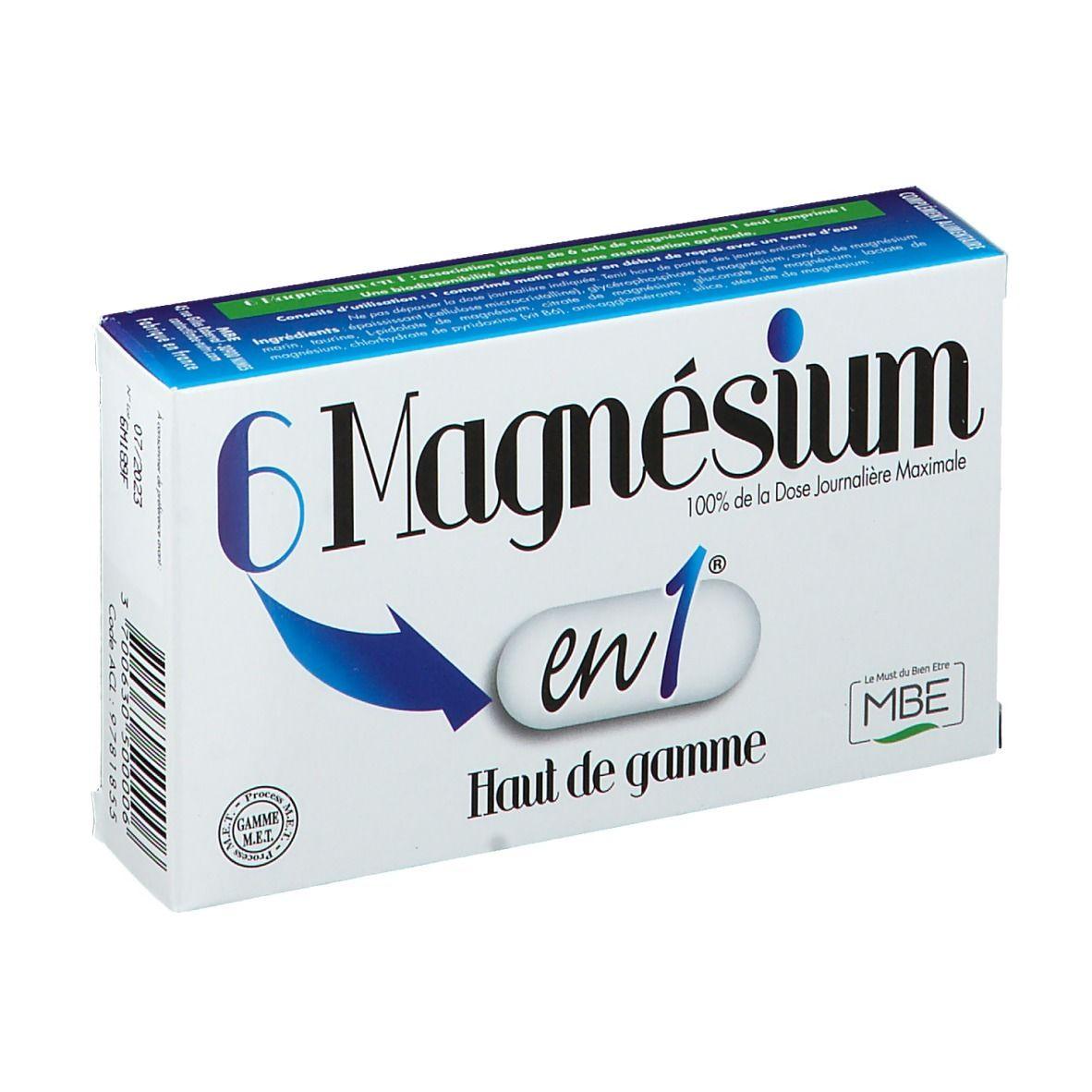 Magnesium 6 en 1 pc(s) comprimé(s)