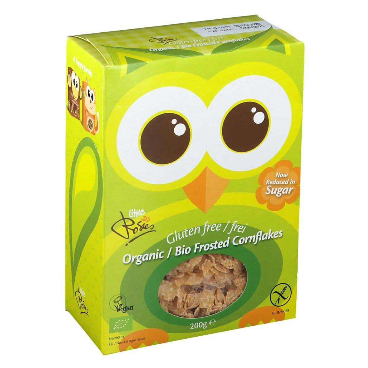 Rosies Little Rosies Frosted Cornflakes Bio sans gluten g