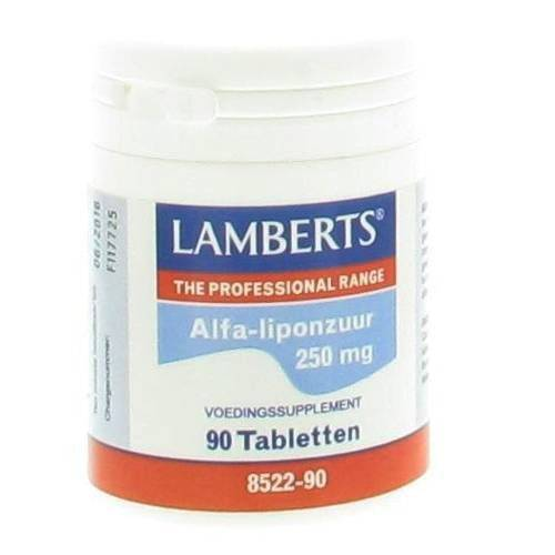 Lamberts® Acide alpha-lipoïque 250 mg pc(s) comprimé(s)