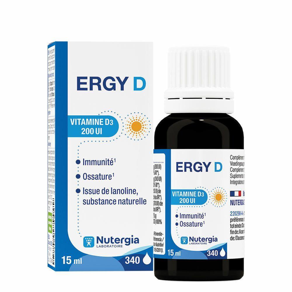 Laboratoire Nutergia Ergy D ml solution(s)