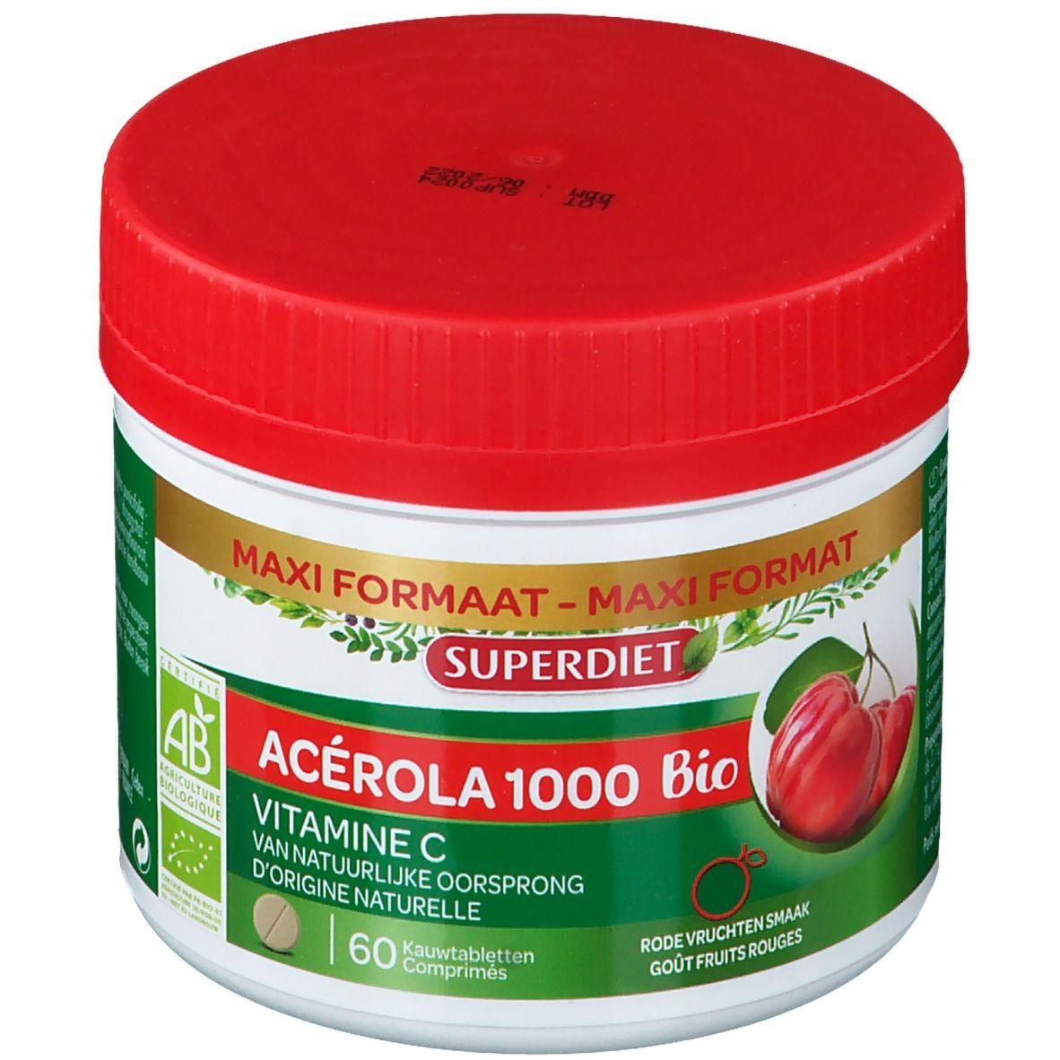 Acérola 1000 Bio Super Diet Acérola 1000 Bio pc(s) comprimé(s)