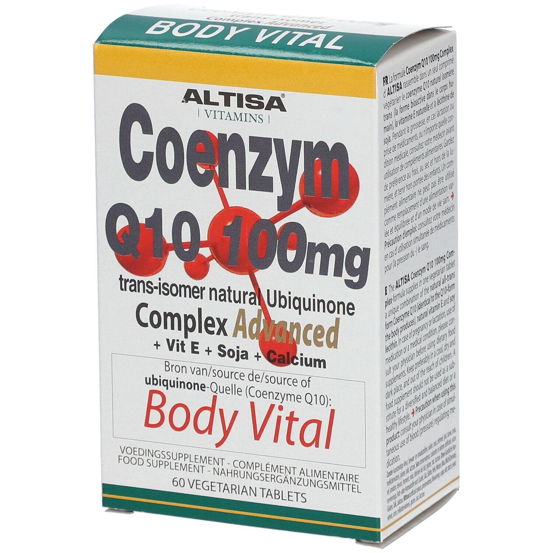 Altisa® Vitamins Altisa Q10 100mg + E + Lecithine + Calcium pc(s) comprimé(s)