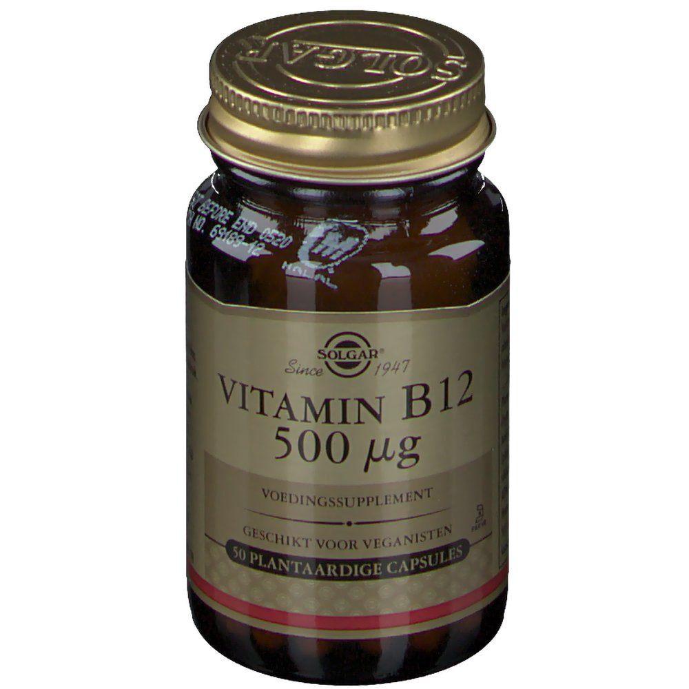 Solgar® Vitamine B12 500 µg pc(s) capsule(s)