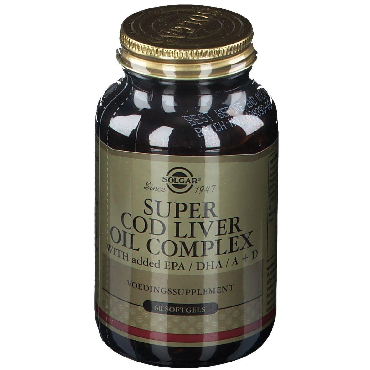 Solgar® Super Cod Liver Oil Complex (Huile de foie de morue) pc(s) capsule(s)