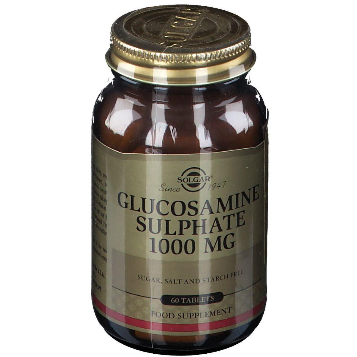 Solgar® Glucosamine Sulphate 1000 mg pc(s) comprimé(s)