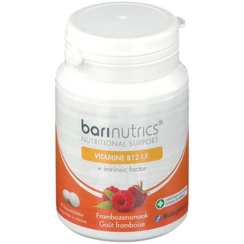 BariNutrics Vitamine B12 I.F. Framboise pc(s) comprimé(s) à croquer