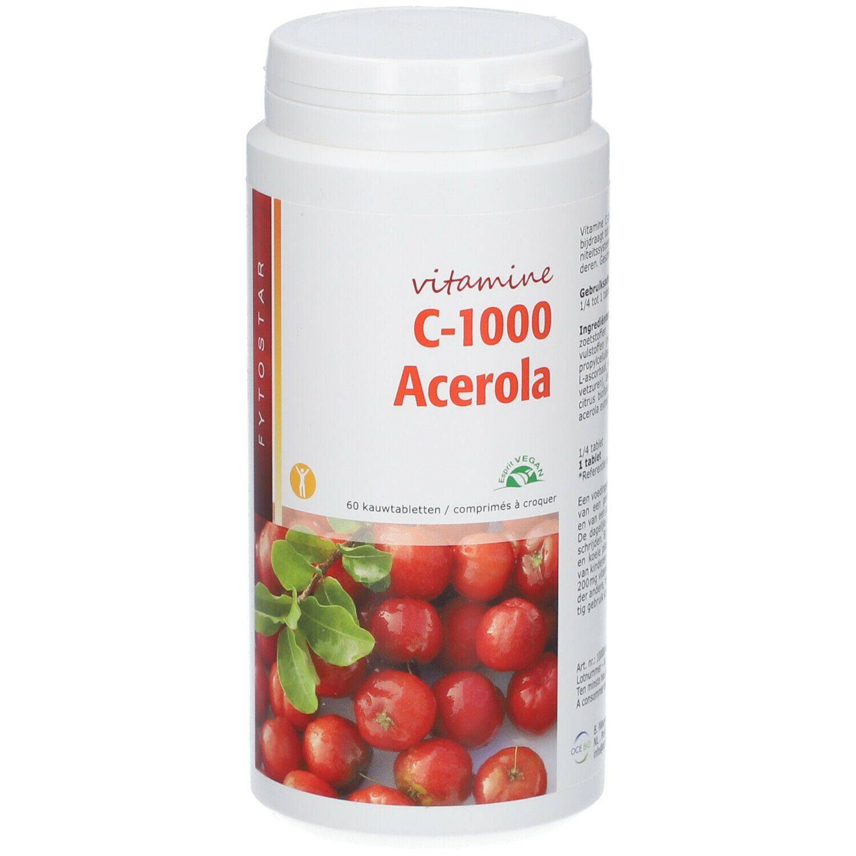 Fytostar Vitamine C-1000 Acerola pc(s) comprimé(s)