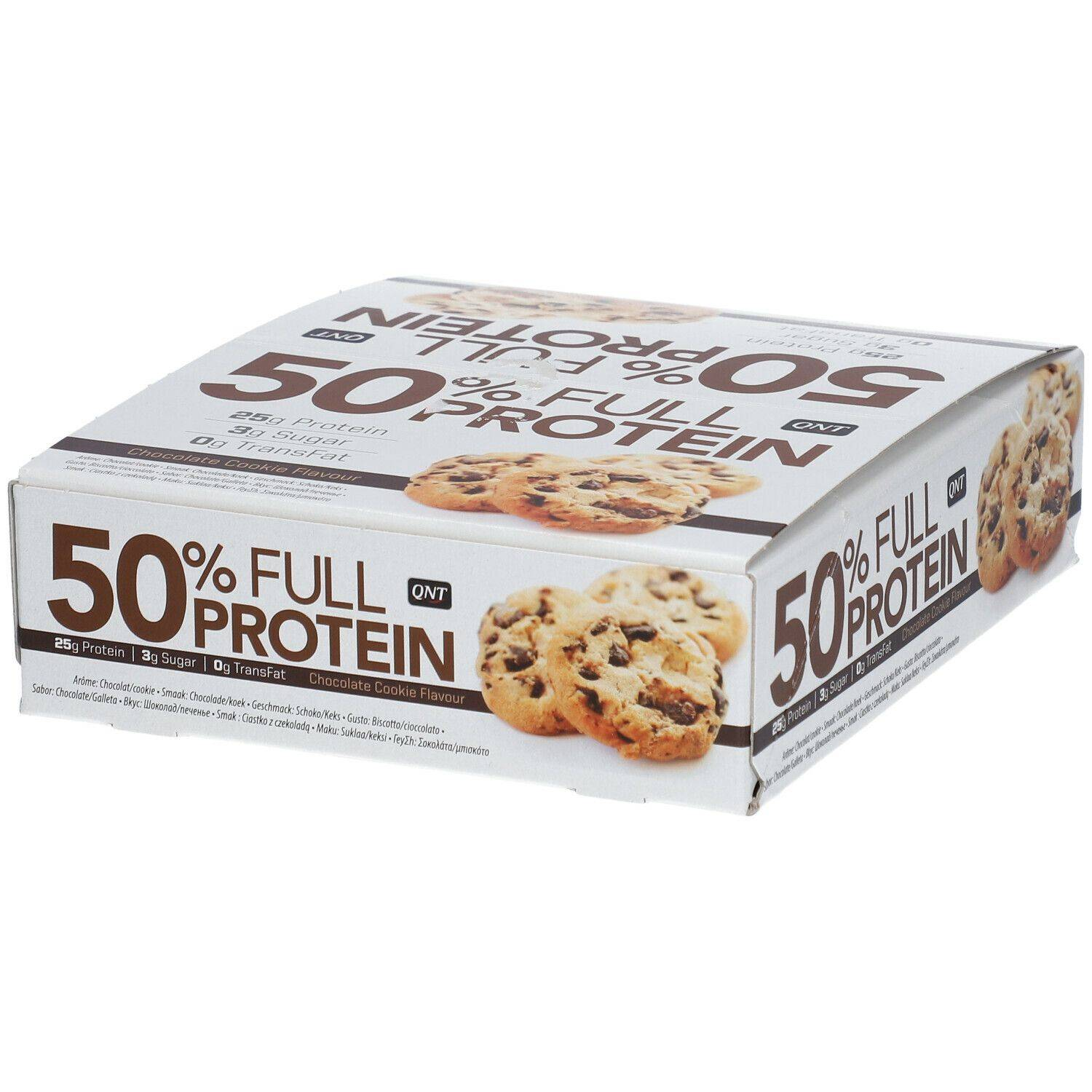 QNT 50% Full Protein Barre Chocolate Cookie g Barre