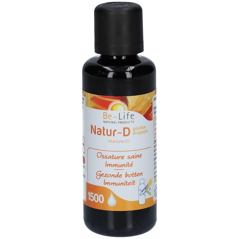 Be-Life Natur-D 4000 Gouttes Vitamine D3 naturelle ml goutte(s)