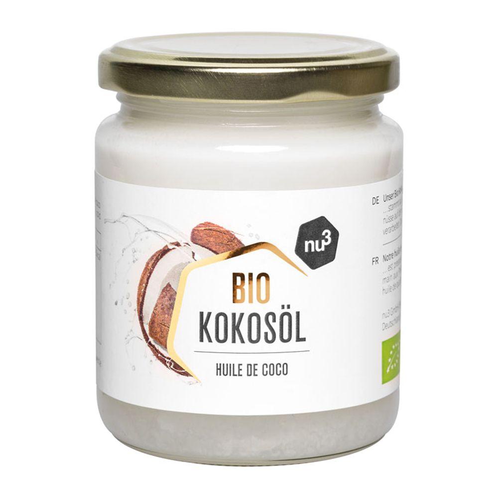 nu3 Huile de Coco Bio ml huile