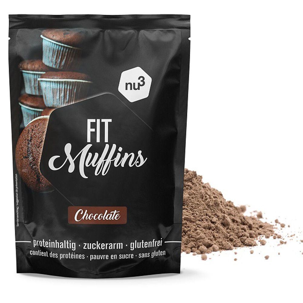 nu3 Fit Muffins chocolat préparation pour pâte g poudre