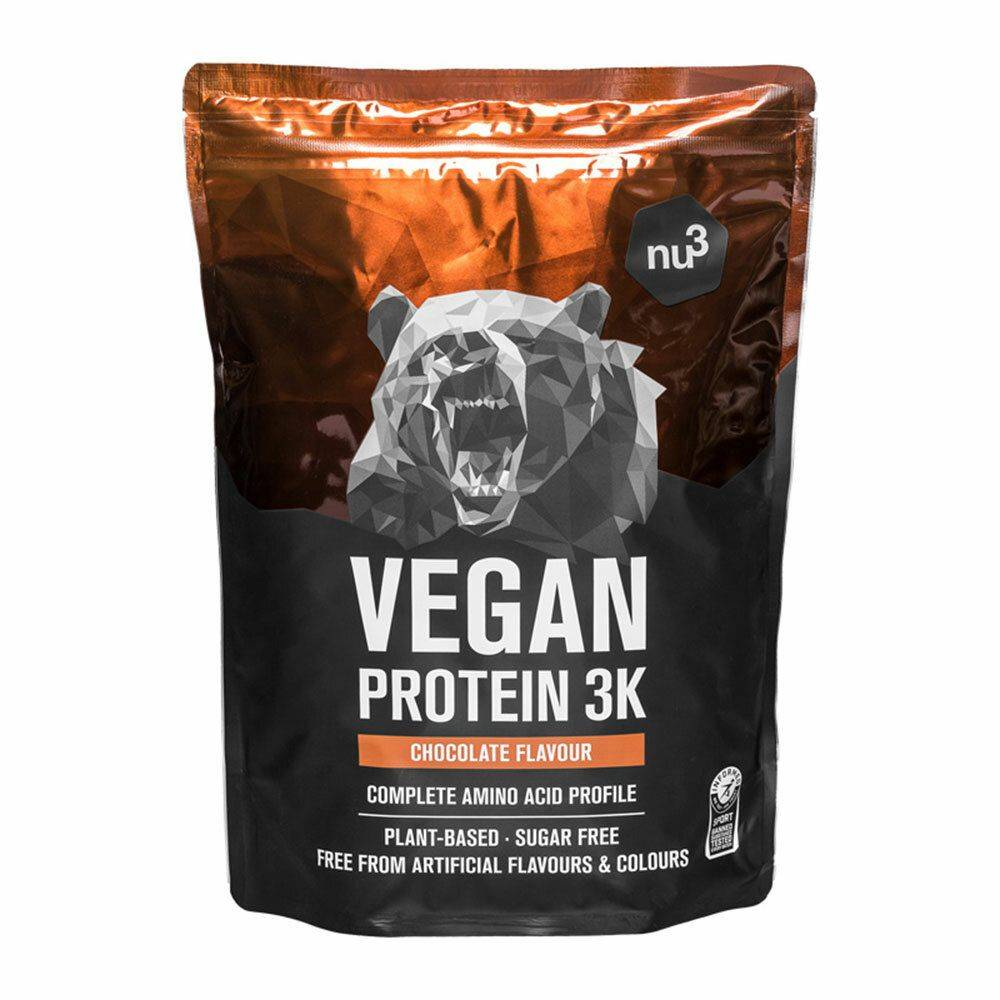 nu3 Vegan Protein 3K, Chocolat g poudre